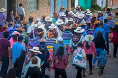 Huancayo seemed to have daily parades.