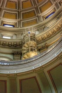 Colorado State Capitol ~ Denver Co ~ Rotunda Interior Staircase