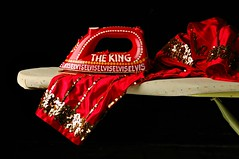 The Incredible Elvis Iron (Studio d'Xavier) Tags: theincredibleelvisiron elvispresley red iron elaynegoodman art workofart