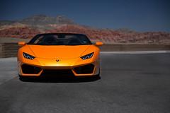 Lamborghini Huracan - Red Rock Canyon (garyhebding) Tags: lamborghini huracan huracanspyder italian exotic v10 lasvegas redrockcanyon