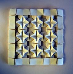 Star Diamond Tessellation - Meenakshi Mukerji (Rui.Roda) Tags: origami papiroflexia papierfalten star diamond tessellation meenakshi mukerji