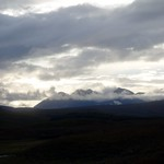 An Teallach in cloud, from the Braemore Forest thumbnail