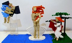 The Birth Of Venus (andresignatius) Tags: lego botticelli venus birth nacimiento