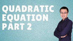 HOW TO SOLVE   QUADRATIC EQUATION [ PART 2] - IB A LEVEL IGCSE (Happymath _ Math Teacher) Tags: alevel alevelsubject algebra aslevel aa âa â calculus easymaths fastmath math mathematician mathquiz mathproblemsolver maths mathsonline mathformulas mathsproject mathforkids mathsquestion mathematics mathtutoronline mathtricks mathssolution mathworksheets mathwordproblems mathtest grade khanacademy khanacademymath khan learnmath prealgebra mentalmath 3rdgrademath 7thgrademath trigcalculator internationalschool triggraphs googlemath onlinemath discretemathematics geometricshapes geometryformulas trigonometryformulas