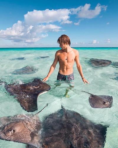#adventure,  🌎 Grand Cayman Ritz Carlton, Cayman Islands |  Sam Potter