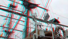 B.A.P. Union Peru 3D (wim hoppenbrouwers) Tags: bap union peru 3d sailing vessel anaglyph stereo redcyan wilhelminapier rotterdam