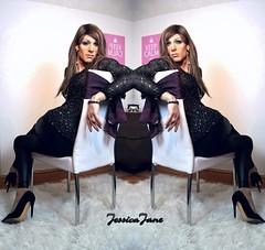 Sequin Symmetry (jessicajane9) Tags: tg crossdress m2f xdress cd tgirl crossdressing feminised tgurl transgender tv lgbt trans