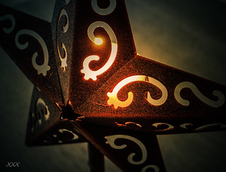 Even a rusty star can light up the darkness