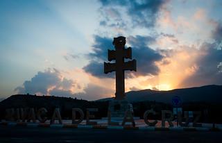 Despidiendo el día desde Caravaca de la Cruz.