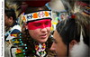 Red Mask Dancer, Six Nations Pow-Wow (jwvraets) Tags: powwow championofchampions grandriver chiefswood brantford firstnations dancer man portrait costume red redrule mask painted makeup caledonia opensource rawtherapee gimp nikon d7100 afsnikkor18105mmvr