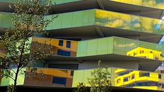 koh i nor (srouve78) Tags: kohinoor montpellier architecture reflet shadows clouds nuages