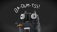 Ba-Dum-Tss! (tigertvi) Tags: lego cat standup meme badumtss moc humor