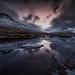 invierno en los fiordos