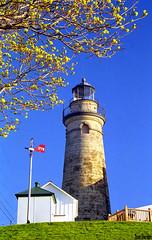 Fairport Harbor Lighthouse (Thom Sheridan) Tags: thomsheridan old vintage lakecounty greatlakes lakeerie 1999