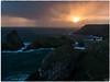 Kynance-Cove_1050364 (HJSP82) Tags: 20170916cornwall kynancecove coast rocks cliffs squall sunset clouds weather