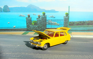 Dinky Toys Renault R16 No.166 1967 : Diorama PS2 GT4 Computer Game Backdrop Costa di Amalfi - 23 Of 31