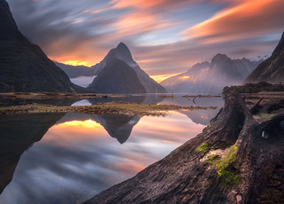 Long Exposure Milford Sound