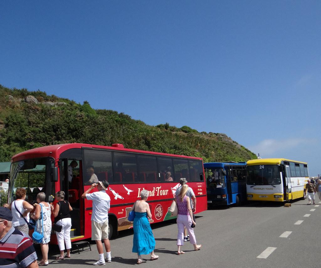 Bus Tours Jersey Channel Islands