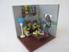 (slight.of.brick) Tags: lego loh minifig vignette scene superhero supervillain