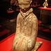 Kneeling Female Figurine from Tomb of the King of Chu Beidon Mountain Xuzhou Jiangsu China Western Han period 2nd century BCE Earthenware