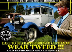 Modern Clothes Are So Boring r tweed Part 10 (MemoryCube5000) Tags: tweedjacket tweedcap retro vintage cap tweed harris cheesecutter flat nz kiwi cars car auto autos vehicles vehicle transport dapper man mens gent gents distinguished thetweedrun needfortweed canon outdoor poster art oldschool cavalrytwill wearingtweed rally show club invercargill dunedin oamaru christchurch nelson wellington wanganui plamerstonnorth newplymouth hastings napier gisborne rotorua tauranga auckland hamilton whangarei queenstown vintagecarclub oldcar canterbury otago sydney london scottish uk english melbourne country