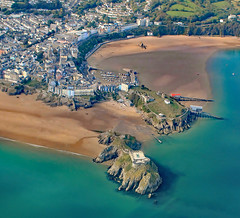 Tenby from above (still.driftingpembrokeshire) Tags: