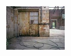 rust and decay (ha*voc) Tags: mamiya645super 45mm 645 120 mediumformat fujinps160 expired slr hembrug zaandam rusty urban urbandecay industrialdecay entropy