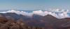 Blue Hour Panorama at Haleakala (Matt McLean) Tags: clouds haleakala hawaii maui mountain panorama sunset volcano kula unitedstates us
