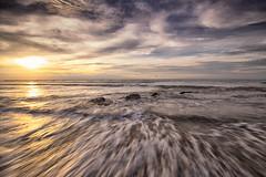 Sunset LE-2 (HardBreakKid) Tags: landscape brunei muara meragang sunset water rocks sky clouds long exposure bruneimuaradistrict