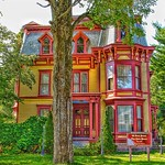 Malone New York ~ The Hale House ~ 56 Park St ~ Historic  Queen Anne  Architecture thumbnail