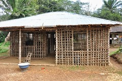 House building in Sierra Leone
