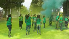 Making the planet green again.. the Color Run after the runners have passed (Red Cathedral [FB theRealRedCathedral ]) Tags: thecolorrun holi colorrun summer fun brussels maketheplanetgreatagain bruxellesmabelle travellinphotographer wanderlust thecolorrun2017 green thecolorrunbrussels digitalnomad happy thehappiest5kontheplanet instagram