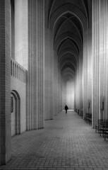 The Reverend (TS446Photo) Tags: vertical church religion mono black white nikon light shadows ybs2017