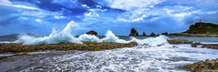 Guadeloupe - La Pointe aux châteaux (NICOLAS BELLO) Tags: beach sky ciel clouds paysage luminosity nature colors plage lumiere mer guadeloupe france luminosite cloud landscape amazing sea sony waves beautiful beaches sand light marine