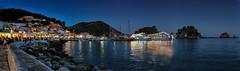 Tranquility Base (Paul Thickitt) Tags: parga pargaharbour nightlife epirus greece greek greekboat