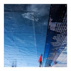miroir d'eau (14) (Marie Hacene) Tags: bordeaux miroir deau soleil orange silhouettes france gironde miroirdeau