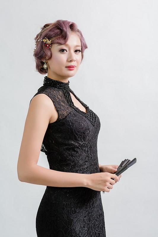 嘉義新秘,新秘,新娘秘書,短髮新娘造型,S波復古新娘造型/