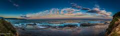 WerriBeachHeadland-55-Pano-Edit.jpg (natemiller81) Tags: werribeach sunset oceanpool gerringong