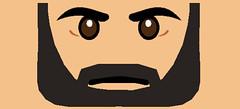 Gregor Face (TCW) (Gabriel Fett) Tags: lego star wars clone gregor trooper amnesia jacket face fett gabriel 212 th commander commando waterslide torso decals decal beard yellow sand back front cc
