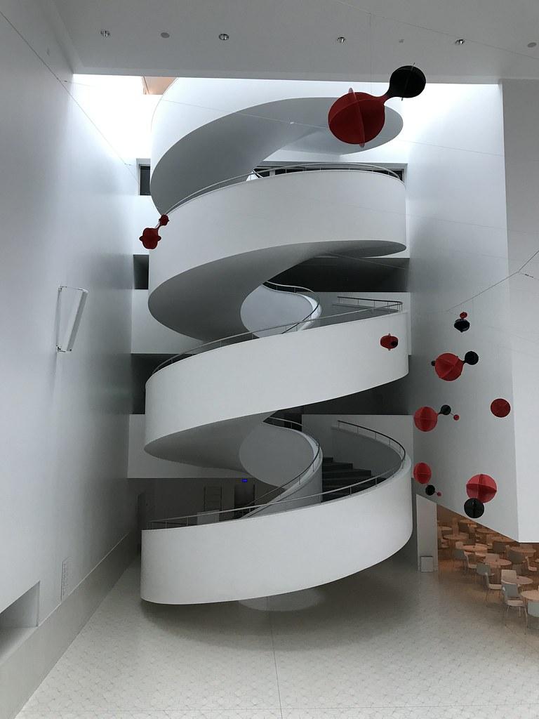 Philharmonie Szczecin (Berliner1963) Tags: Spiralstaircase Wendeltreppe  Stairway Treppe White Weis Modernarchitecture Modernearchitektur Modern
