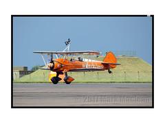 Scampton 2017 Breitling Wing Walkers 5 (Marks CVS) Tags: raf scampton 2017 airshow breitling wingwalkers boeing stearman biplane