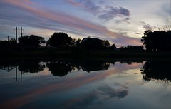 After sunset (fdlscrmn) Tags: river reflection 7dwf colorful colours sunset