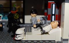 Clone Medical Base moc (501st DESIGNS) Tags: lego star wars clone base moc medical kit fisto pilot troop transporter monitor republic