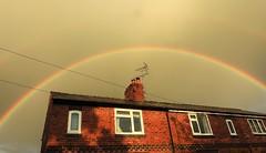 Photo of Rainbow Over Park Avenue - Higher Kinnerton