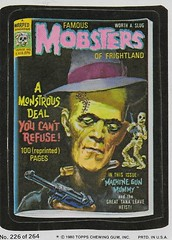 Wacky Packages No. 226 ( Topps 1980 ) (Donald Deveau) Tags: topps wackypackages tradingcards frankenstein famousmonsters universalmonsters stickers