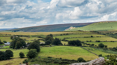 Bell Tor catching the sunshine on Dartmoor