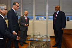 Bilateral Meeting with King Letsie III of Lesotho (01116448)