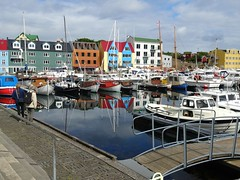Tórshavn marina (Jaedde & Sis) Tags: føroyar tórshavn harbour marina reflection colour challengeyouwinner 15challengeswinner sweep friendlychallenges