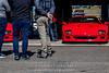 Red-Ferrari-F40-sports-car-in-sydney-by-la-lente-photography-in-garagae (Paul D'Ambra - Australia) Tags: car red ferrari sportscar redsportscar redferrari vehicle motorvehicle redf40