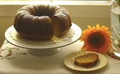 CHEZ SIMONE. Apple Sauce Cake (Traveling with Simone) Tags: cake gâteau pommes apples applesauce dessert sweet baking